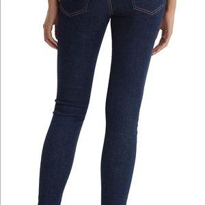 Levi Mile High Super Skinny 5 Pocket Stretch Jeans
